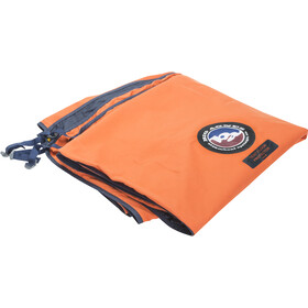 """Big Agnes Indvendig bund 58x90"""", orange/blå"""